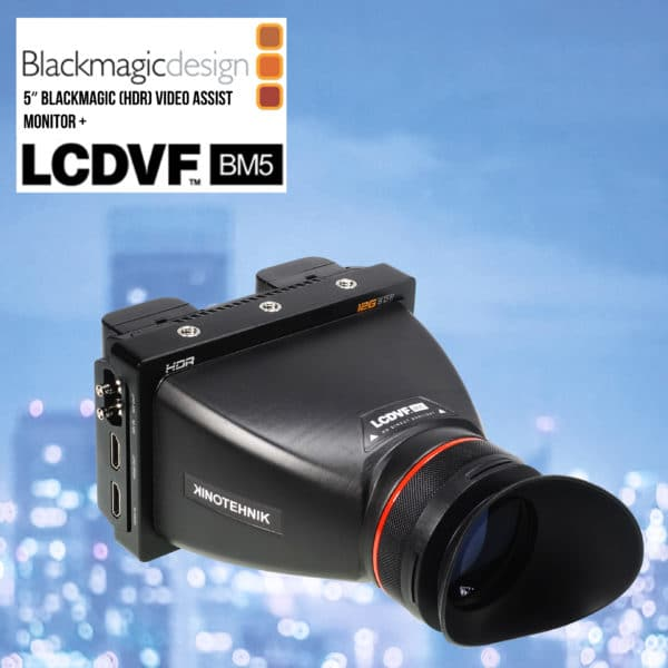 LCDVF Viewfinder BlackMagic 4K and 6K
