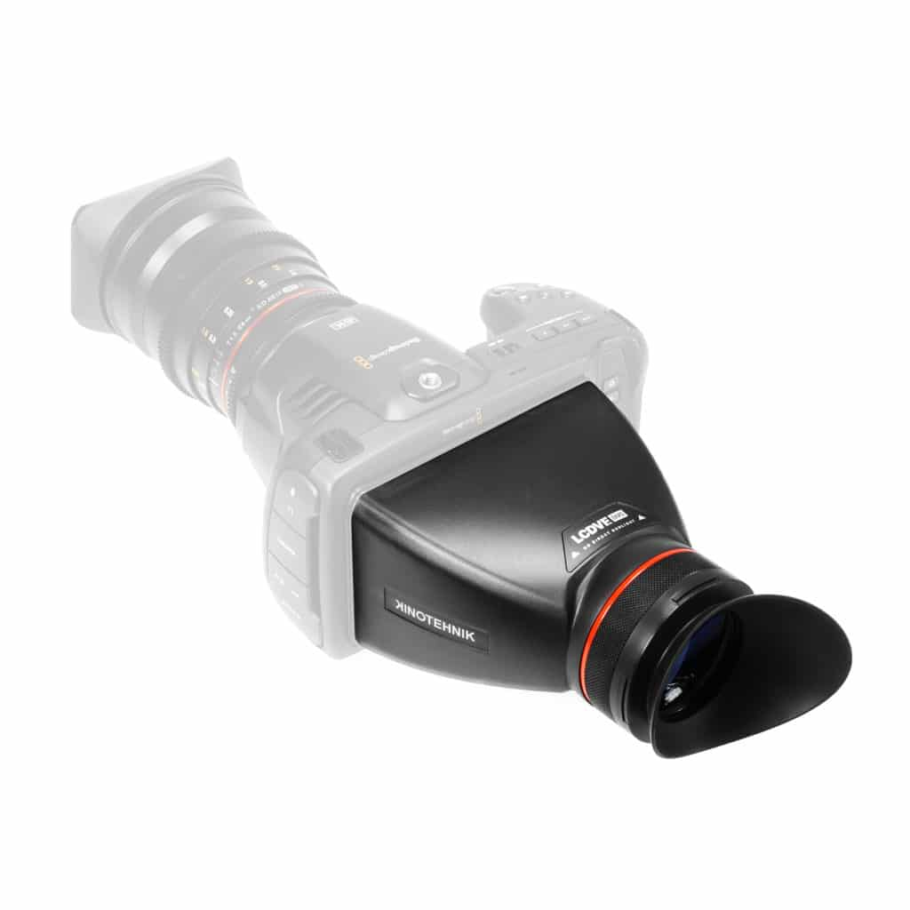 Blackmagic pocket cinema camera viewfinder lcdvf kinotehnik 6k 4k