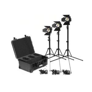 Kinotehnik Practilite Fresnel LED kit 602 604