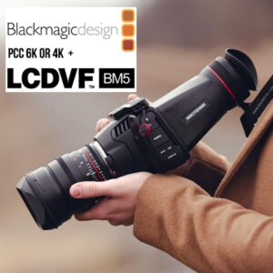 LCDVFBM5 LCDVF Viewfinder BlackMagic 4K and 6K