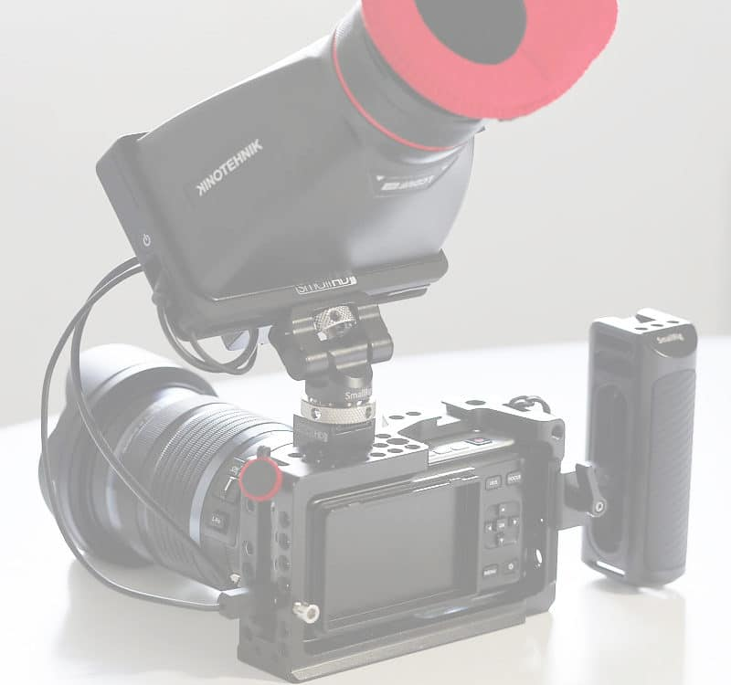 LCDVF BM5 optical viewfinder SMALLHD focus hdmi monitor accessory must have review